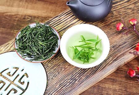 绿茶产品拍摄