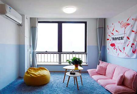 银柳公寓酒店空间摄影